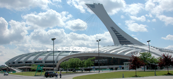 Montreal Olympic Stadium will host the 2015 season of Canadian Premier League. Photo: wikipedia.org