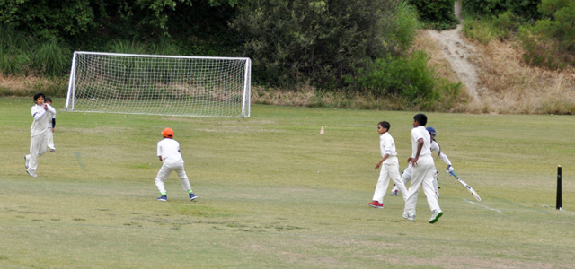 Anuvrat Shukla taking a wicket
