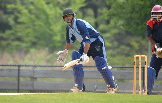 Muhammad Asad Ghous playing in his major tournament at USACA National Under-19 tournament back in 2009. Photo by Shiek Mohamed