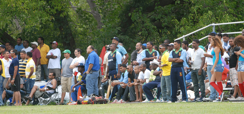 Fans at the 2014 Guyana Inter-County tournament.