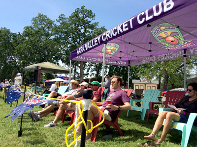 •A crowd of up to 150 spectators enjoyed the 2016 Napa Valley World Series of Cricket at the Calistoga Fairgrounds.