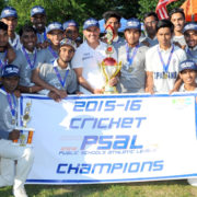 John Adams 2016 PSAL Cricket Champions