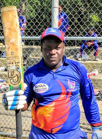 Terrence Madramootoo scored a LSC record 147 runs against RHCC.