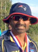 Fazal Alam of Massachusetts State Cricket League.