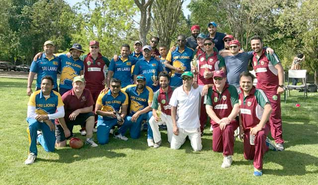Napa Valley Cricket Club Win Season Opener Against Sri Lanka Lions