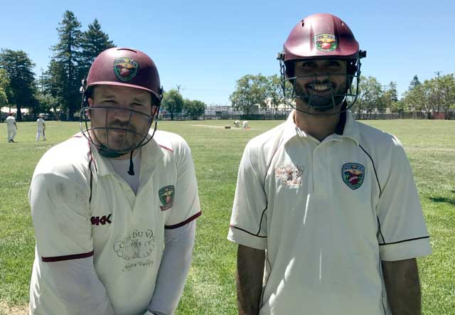 Napa Valley Cricket Club Plays First Ever Match In Downtown Napa In Searing Temperatures