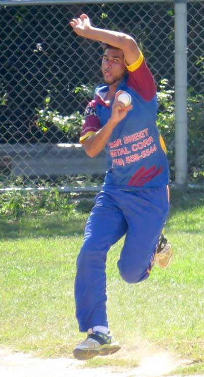 Altaaf Habibulla, Richmond Hill Liberty Cricket Club, eastern american cricket association, new york cricket, usa cricket