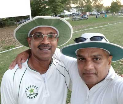 Sham-Ali - Debo Sankar, new york masters cricket