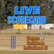 Guyana Clashes With Caribbean Invitational XI For 2018 ICF Trophy