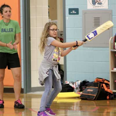 Ellicott City Students Excited To Join the BEST Cricket League
