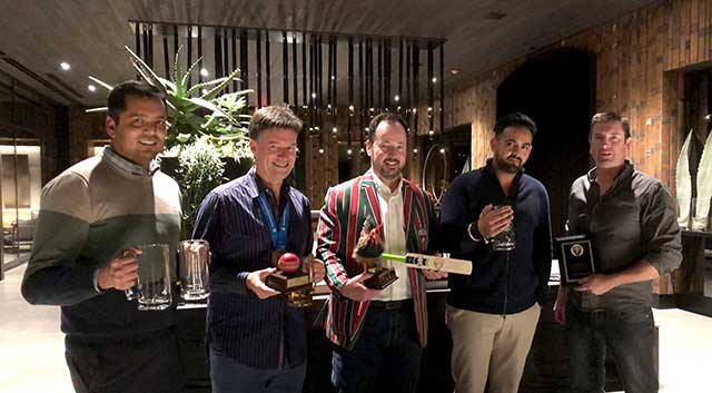 Napa Valley Cricket Club Award Winners