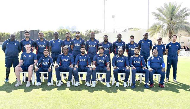 USA team in Dubai.