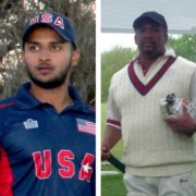Fahad Babar, Anthony Hinds And Kashif Rana Ton-Up