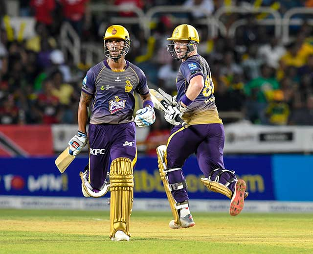 Lendl Simmons and Colin Munro