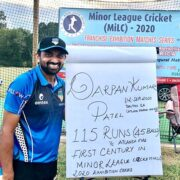 Darpan Patel: Scoring the First Century In MiLC Is My Most Memorable Moment